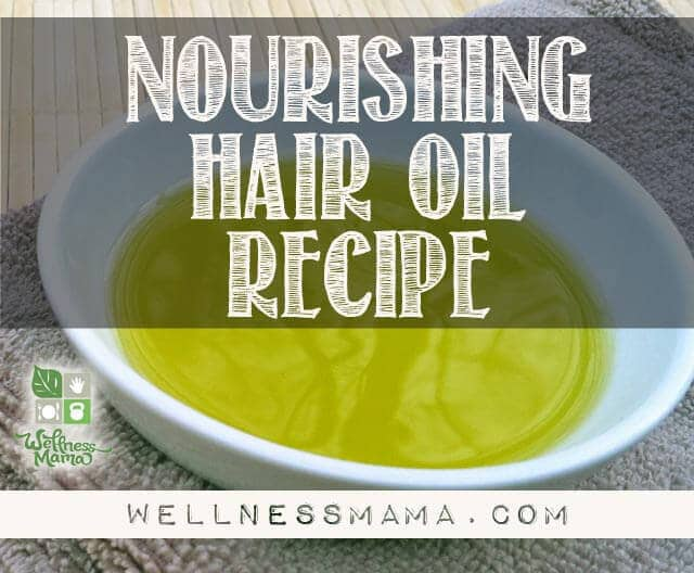 Nourishing Hair Oil Recipe